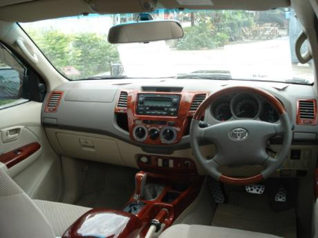 complete wood interior
