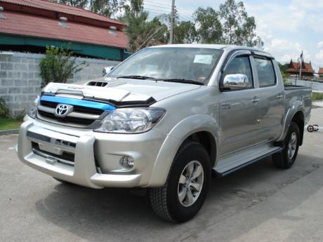 new Toyota Hilux Vigo Double Cab at Thailand's top and Singapore's best Toyota Hilux Vigo dealer Jim Autos Thailand