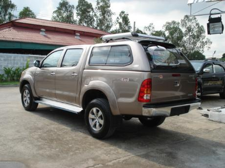 canopy new Toyota Hilux Vigo Double Cab at Thailand's top and Singapore's best Toyota Hilux Vigo dealer Jim Autos Thailand