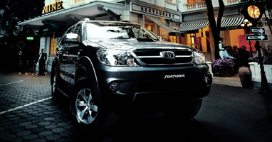 Toyota Fortuner Thailand's on sale at Thailand's top and Singapore's best 4x4 exporter