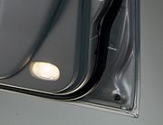 Front door courtesy lamps