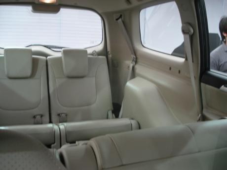 2009 Mitsubishi Pajero Sport SUV rear view