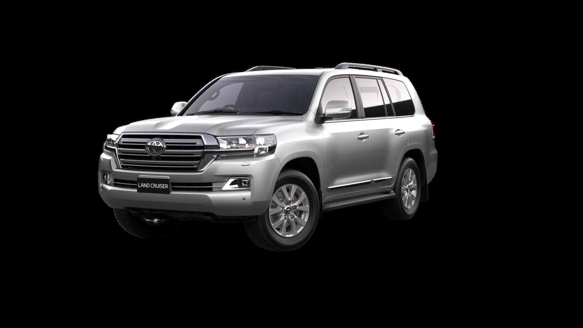 Toyota LandCruiser 200 Sahara in Crystal Pearl